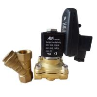 """Wholesale Medium Temperature Two Way Eletric Solenoid Valve With Timer 1/2""""  1/4"""" Thread Size from china suppliers"""