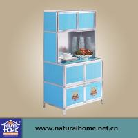 Wholesale Termpered Glass Printing Aluminum Storage Cabinets For Storage Kitchenware from china suppliers