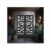 Buy cheap Stylish Elegant Wrought Iron Glass Glass Agon Filled 22*64 inch Size Durable from wholesalers