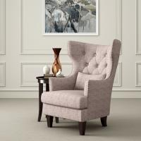 Wholesale Astaire French Style Accent  Arm Chair Reading Room With Curved Back from china suppliers