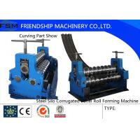 Wholesale Corrugated Sheet Rotary Bender Corrugated Roll Forming Machine Thinckness 2mm - 4mm from china suppliers