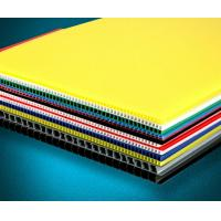 Quality Eco - Friendly Anti - Corrosion Pp Hollow Sheet Corrugated Plastic Board 2mm - 10mm Thickness for sale
