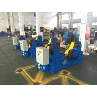 Wholesale Motorized Moving 40 Ton Self-aligned Welding Rotator Turning Rolls, Coated With PU Wheels from china suppliers