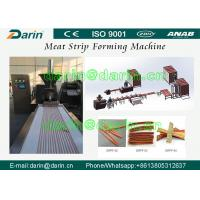 Wholesale Stanless Steel 304 type Pet Food Manufacturing Equipment , Meat Strip Processing Line from china suppliers