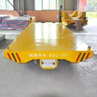 Quality storage battery powered steel pipes 30ton handling transporter with low price for sale