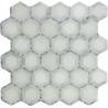 Buy cheap Carrara white mosaic tile 12x12