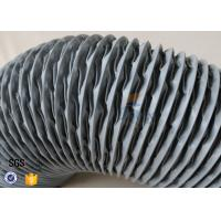 Wholesale PVC Coated Glass Fibre Flexible Air Ducting 200MM Diameter 5 Meters 260℃ from china suppliers