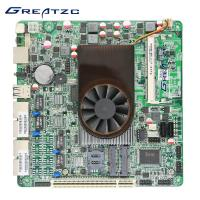 Wholesale CPU Intel Atom D525 1.8ghz Onboard Processor Motherboard 4 Quad Intel GMA 3150 from china suppliers