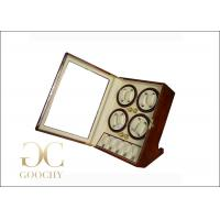 Wholesale 4 Watch Winder Box Christmas Gift , Automatic Watch Case Winder from china suppliers