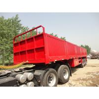 Wholesale brand new china  lowbed Semi-trailer with 4-axles excavator trailer. excavator trailer from china suppliers