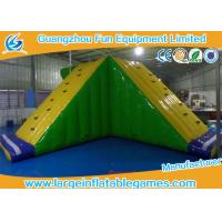 Wholesale Amusement Floating Inflatable Water Park Game Inflatable Water Slide Equipments from china suppliers