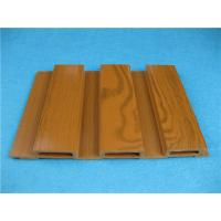 Wholesale Wood Plastic Composite Wall Cladding Beech Colorful WPC Panels CE / ISO from china suppliers