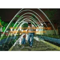 Wholesale Rainbow Glass Light Jet Water Fountain Equipment With LED Light Make Walking Tunnel from china suppliers