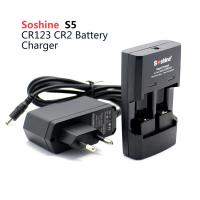 Wholesale Soshine battery charger, 1-2PCS Li-ion RCR123/RCR2 Battery Charger from china suppliers