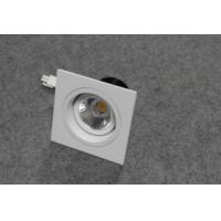Wholesale Square LED ceiling lights with  180 degree rotating structure, 7w, 75mm cutout, Ra>82 from china suppliers