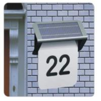 Wholesale factory price Digital doorplate solar light from china suppliers