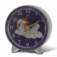 Wholesale Desk Clock without Voice, All Kinds of Alarm Clock Available, with Sweep Snooze Function from china suppliers