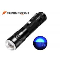 Wholesale Black Light 395nm UV LED Flashlight Zoom Detector for Pet Urine Stains from china suppliers