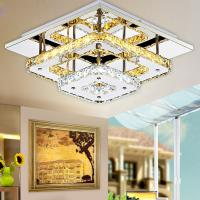 Wholesale Modern Crystal LED Ceiling lights Fixture For Indoor Lamp lamparas de techo Surface Mounting Ceiling Lamp For Bedroom from china suppliers