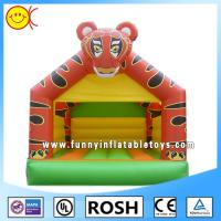 Wholesale PVC Tiger Inflatable Combo Bouncers Rectangle Bounce House Games from china suppliers