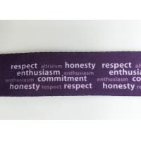 Quality Purple color customized profesionnal  sublimation lanyards with any  logo on it for sale