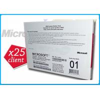 Wholesale Microsoft Windows Server 2008 R2 Edition 1-8cpu With 25Clients Genuine Key License from china suppliers