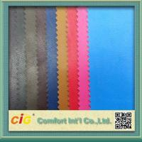 Wholesale 0.4mm Colorful PU Synthetic Leather / Artificial Leather Fabric For Bag from china suppliers
