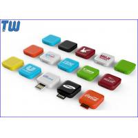 Wholesale Delicate Mini Swivel Square Box 32GB Flash Drives UDP Memory Chip from china suppliers