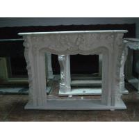 Wholesale Simple carving stone fireplace mantel from china suppliers