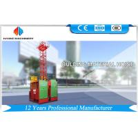 Quality Variable Frequency Drive Passenger Hoisting Equipment 2000kg 0-63 m / min Inverter power 45kw for sale