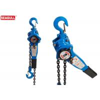 Wholesale Chrome Surface Lever Chain Hoist / Gs Ratchet Lever Block 0.75 Ton from china suppliers