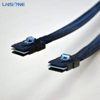 Wholesale Male to male SFF-8087 12Gbps Mini-SAS 36pin Cable from china suppliers