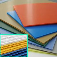 Wholesale Factory Price 2mm 3mm 5mm PP Fluted Sheet from china suppliers