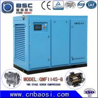 Wholesale High Efficient 45kw Stationary High Volume Air Compressor 6.5-9.8m³ / Min from china suppliers