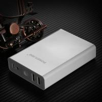 Wholesale Compact External USB Power Bank 10400MAH , Li - ion Power Bank For Smartphone from china suppliers