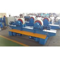Wholesale Bolt Adjustment Movable Pipe Welding Rollers , 20 T Capacity Pipe Supports Stands from china suppliers
