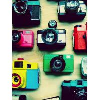 Wholesale LOMO camera 35mm manual twin Lens film jelly toy camera from china suppliers