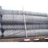 Wholesale 80*120mm Electro-Galvanized Gabion Box / Hexagonal Wire Netting Used Mountain from china suppliers