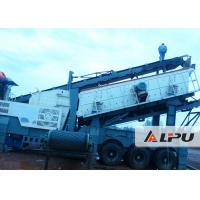 Wholesale Flexible Configuration Portable Crusher Plant , Mobile Concrete Crusher from china suppliers