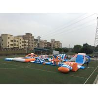 Wholesale PVC Tarpaulin Inflatable Obstacle Water Park Inflatable Sport Games 37M * 22M from china suppliers