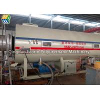 Quality Single Screw Plastic Extruder Machine For Black / Yellow Insulation Pipe Making for sale