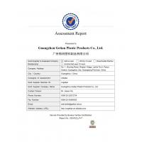 Guangzhou Getian Plastic Products Co., Ltd. Certifications