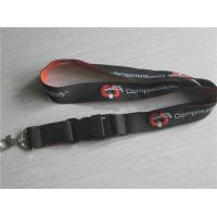Wholesale Jacquard woven id badge holder lanyards, customized jacquard promotional neck ribbon, from china suppliers
