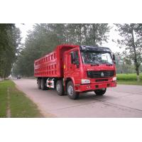Quality 371hp Howo 8x4 tipper truck / dumper truck HW76 cab with one berth 7m length for sale