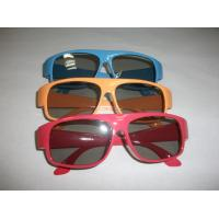 Wholesale Red Blue Plastic Circular Polarized 3D Glasses ROHS, EN71 from china suppliers
