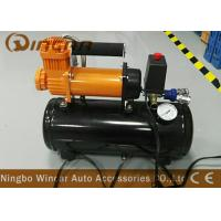 Wholesale Auto 12v Portable Air Compressor 12v 30mm Orange Color With 8 Liter Tank from china suppliers