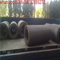 Wholesale stainless steel crimped wire screen mesh for vibrating crushed stone/galvanized/ stainless steel crimped wire mesh from china suppliers