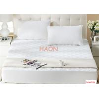 Wholesale Fitted Type  Queen Size With Four Side Rim Band Hotel Mattress Protector from china suppliers