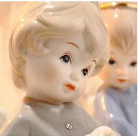 Wholesale Hand-painted ceramic angel household ornaments from china suppliers