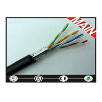 Wholesale CAT5E Outdoor Armored Ethernet Network Cable For Alarm System Wear Resistance from china suppliers